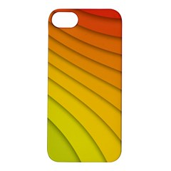 Abstract Pattern Lines Wave Apple Iphone 5s/ Se Hardshell Case