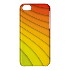 Abstract Pattern Lines Wave Apple Iphone 5c Hardshell Case