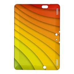 Abstract Pattern Lines Wave Kindle Fire Hdx 8 9  Hardshell Case