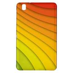 Abstract Pattern Lines Wave Samsung Galaxy Tab Pro 8 4 Hardshell Case