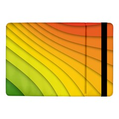 Abstract Pattern Lines Wave Samsung Galaxy Tab Pro 10 1  Flip Case