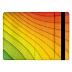 Abstract Pattern Lines Wave Samsung Galaxy Tab Pro 12 2  Flip Case