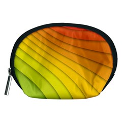 Abstract Pattern Lines Wave Accessory Pouches (Medium)