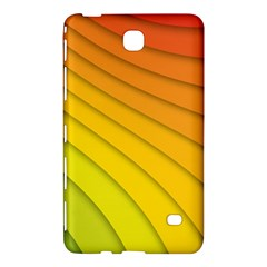 Abstract Pattern Lines Wave Samsung Galaxy Tab 4 (7 ) Hardshell Case