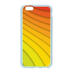 Abstract Pattern Lines Wave Apple Seamless iPhone 6/6S Case (Color)