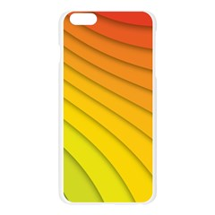 Abstract Pattern Lines Wave Apple Seamless iPhone 6 Plus/6S Plus Case (Transparent)