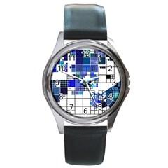 Design Round Metal Watch