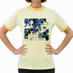 Design Women s Fitted Ringer T-Shirts