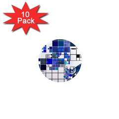 Design 1  Mini Magnet (10 pack)
