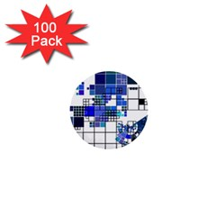 Design 1  Mini Buttons (100 pack)