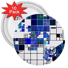 Design 3  Buttons (10 Pack)