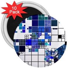 Design 3  Magnets (10 pack)