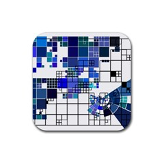 Design Rubber Coaster (Square)