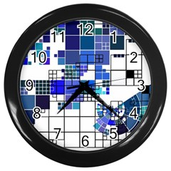 Design Wall Clocks (Black)