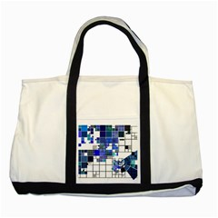 Design Two Tone Tote Bag