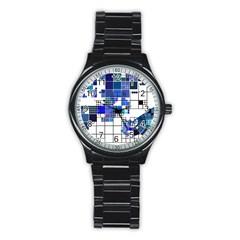 Design Stainless Steel Round Watch