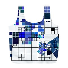 Design Full Print Recycle Bags (L)