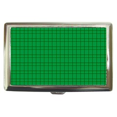 Pattern Green Background Lines Cigarette Money Cases