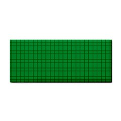 Pattern Green Background Lines Cosmetic Storage Cases