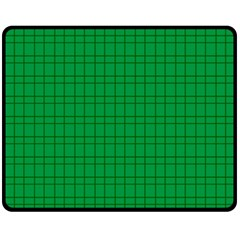 Pattern Green Background Lines Fleece Blanket (medium)
