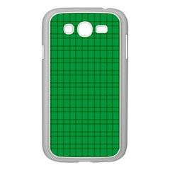 Pattern Green Background Lines Samsung Galaxy Grand Duos I9082 Case (white)