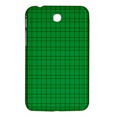 Pattern Green Background Lines Samsung Galaxy Tab 3 (7 ) P3200 Hardshell Case