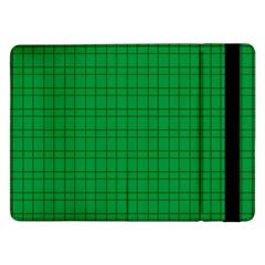Pattern Green Background Lines Samsung Galaxy Tab Pro 12 2  Flip Case