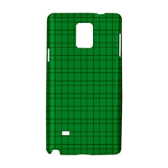 Pattern Green Background Lines Samsung Galaxy Note 4 Hardshell Case