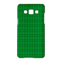 Pattern Green Background Lines Samsung Galaxy A5 Hardshell Case