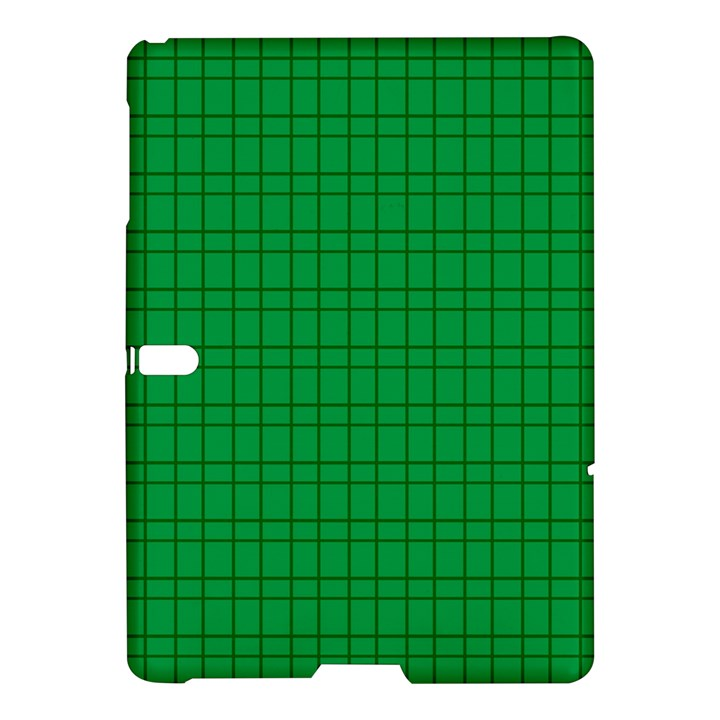 Pattern Green Background Lines Samsung Galaxy Tab S (10.5 ) Hardshell Case
