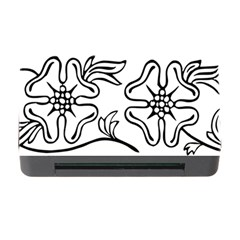 Decoration Pattern Design Flower Memory Card Reader With Cf