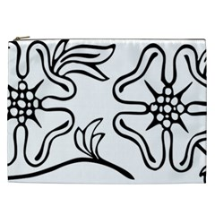 Decoration Pattern Design Flower Cosmetic Bag (XXL)