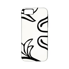 Decoration Pattern Design Flower Apple iPhone 5 Classic Hardshell Case (PC+Silicone)
