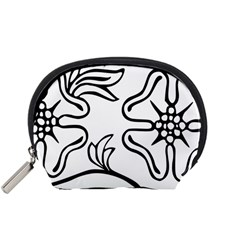 Decoration Pattern Design Flower Accessory Pouches (small)