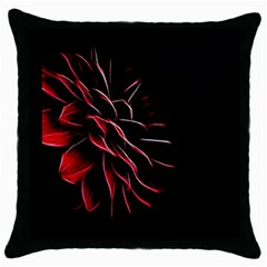 Pattern Design Abstract Background Throw Pillow Case (black)