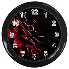 Pattern Design Abstract Background Wall Clocks (black)