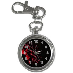 Pattern Design Abstract Background Key Chain Watches