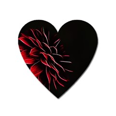 Pattern Design Abstract Background Heart Magnet
