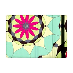 Pink Flower Ipad Mini 2 Flip Cases