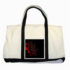Pattern Design Abstract Background Two Tone Tote Bag