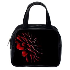 Pattern Design Abstract Background Classic Handbags (One Side)