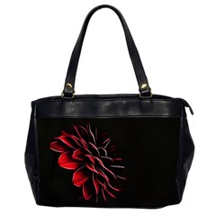 Pattern Design Abstract Background Office Handbags (2 Sides)