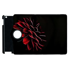 Pattern Design Abstract Background Apple Ipad 2 Flip 360 Case