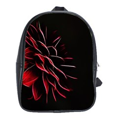 Pattern Design Abstract Background School Bags (XL)