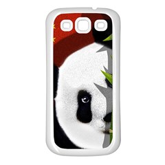 Panda Samsung Galaxy S3 Back Case (White)