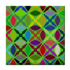 Abstract Pattern Background Design Tile Coasters