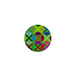 Abstract Pattern Background Design 1  Mini Magnets