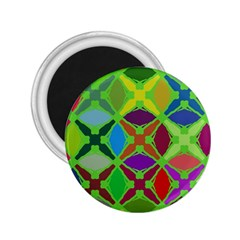 Abstract Pattern Background Design 2.25  Magnets