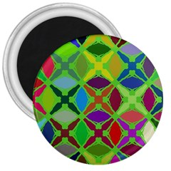 Abstract Pattern Background Design 3  Magnets