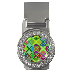 Abstract Pattern Background Design Money Clips (CZ)
